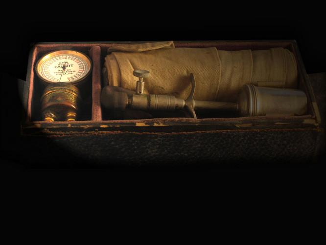 1918 Faught Sphygmomanometer