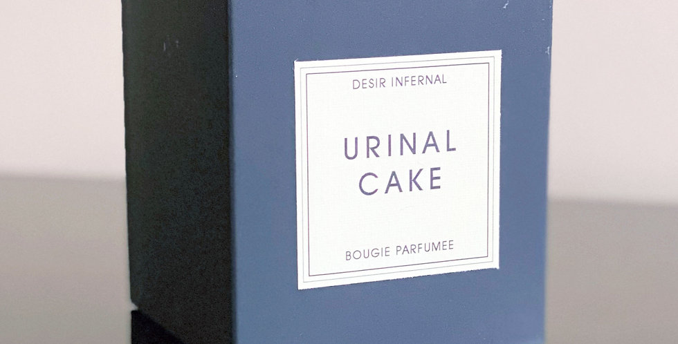 Urinal Cake - Perfumed Candle