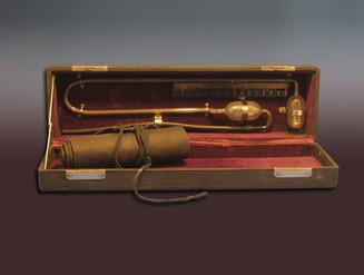 Brown sphygmomanometer