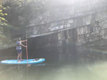 Paddle dans les gorges de la balme
