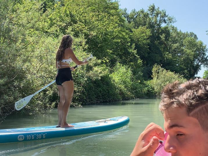 Descente en Canoë / Kayak et stand up paddle sur le Rhône et le Guiers