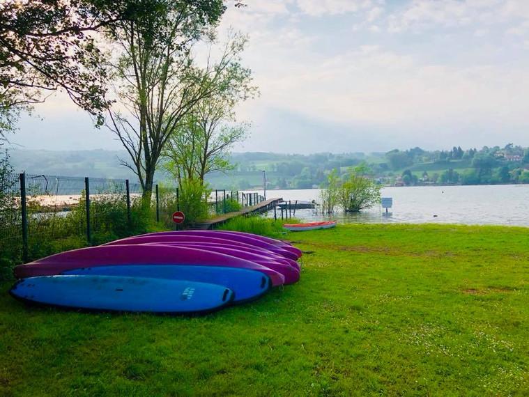Stand up paddle & canoë / kayak - Lac de Paladru