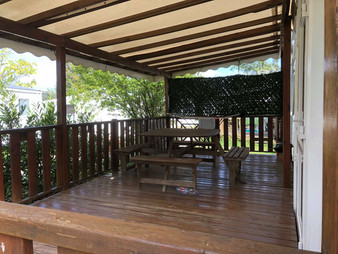 Terrasse mobil-home 6 personnes