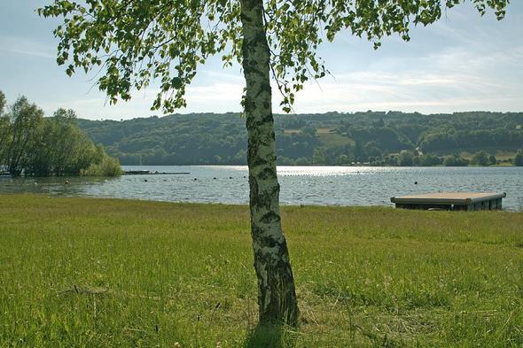 Plage de Montferrat - Lac de Paladru