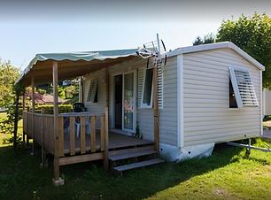 Description des mobil Homes du Lac de Paladru, Camping, Sans Souci, mobil Home, Piscine, terrasse, Location, Emplacement, Camping Car, tente.
