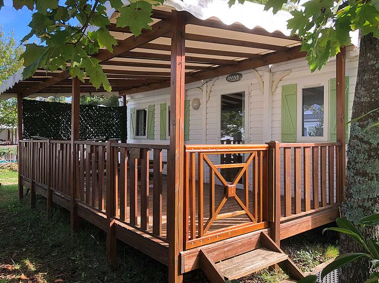 Mobil-home 6 personnes avec terrasse