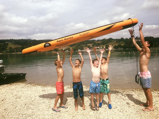 Stage de Stand Up Paddle - Lac de Paladru