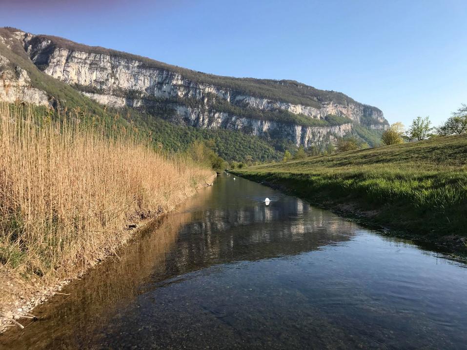canal du rhône en Canoë