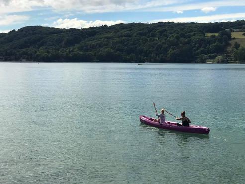 Location Canoë / Kayak - Lac de Paladru