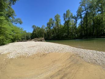 Bord de la rivière