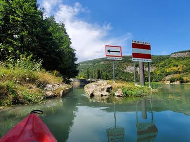 Les gorges de la Balme en Canoë Kayak avec FoxaGliss