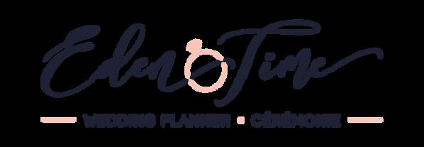 Logo Eden Time Wedding Planner Savoie