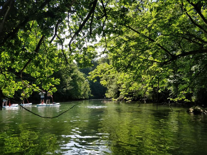 Location de Canoë sur la rivière du Guiers à Pont de Beauvoisin