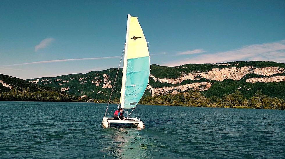 Location de stand up paddle, canöe / kayak,catamaran à la base nautique du Cuchet entre la Drôme, la Savoir et L'Isère.