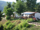 vue du camping du lac de Paladru