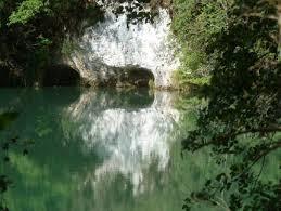 Le Rhône dans les gorges de la Balme