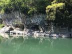 Falaise sous le pont des gorges de la Balme