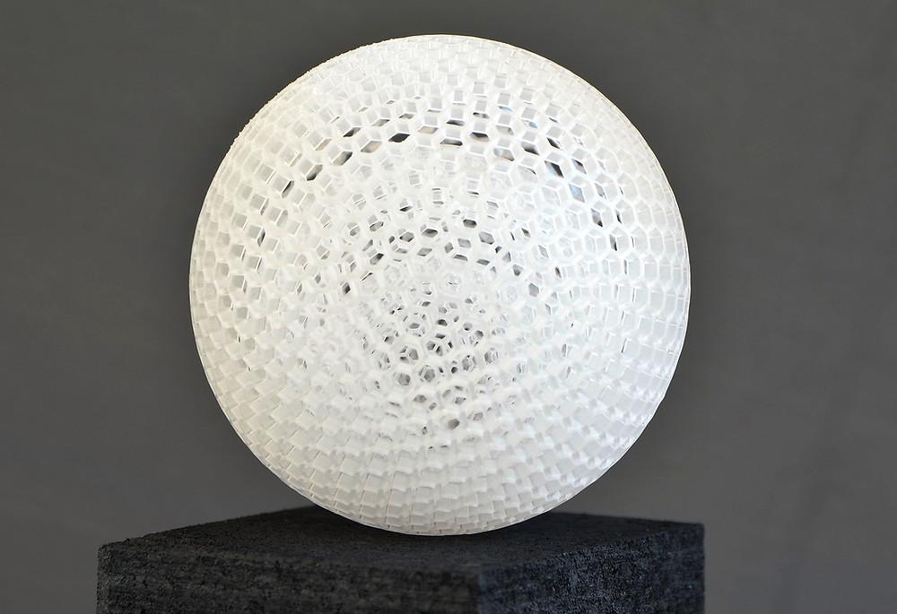 3D-printed sphere