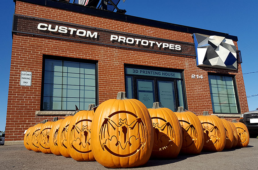 CNC machined pumpkins