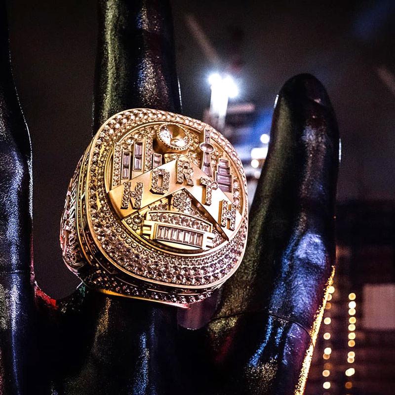 3D Printed Championship Ring Displayed at Jurassic Park