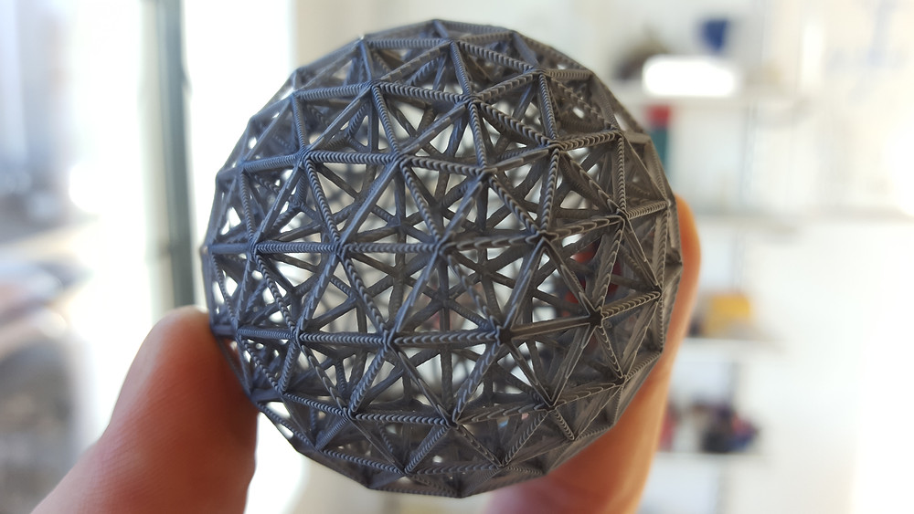 3d printed sphere