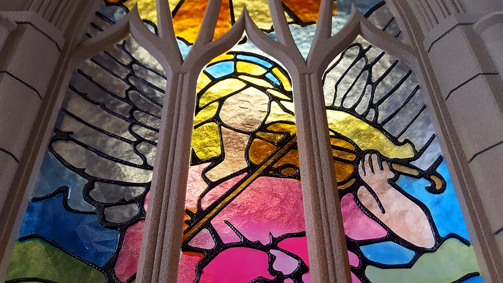 3d printed stained glass