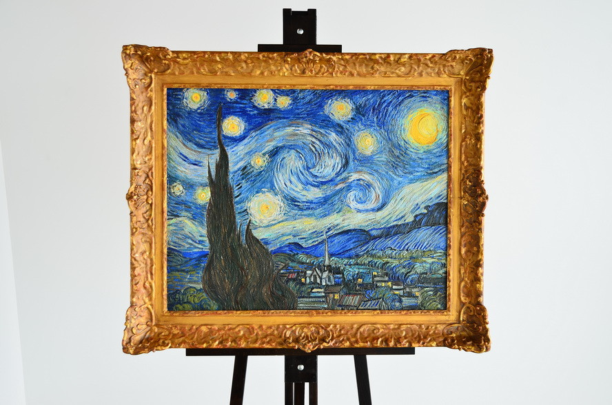 3D Printed Van Gogh's Starry Night