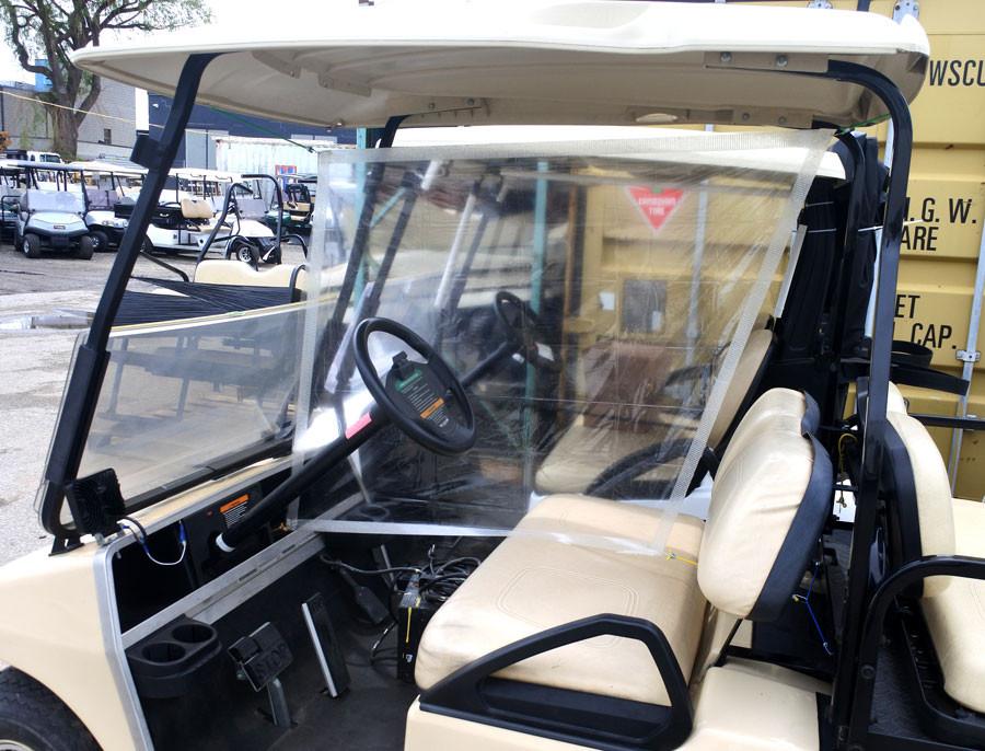 Golf Cart Curtain for Covid 19