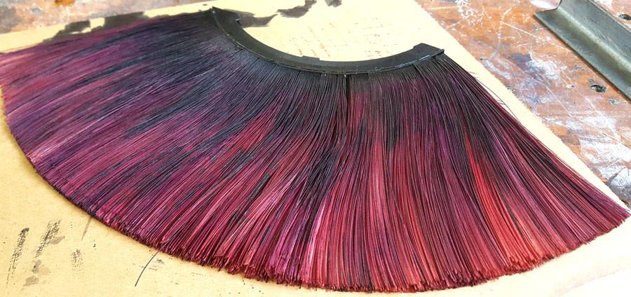 3d printed hair dye