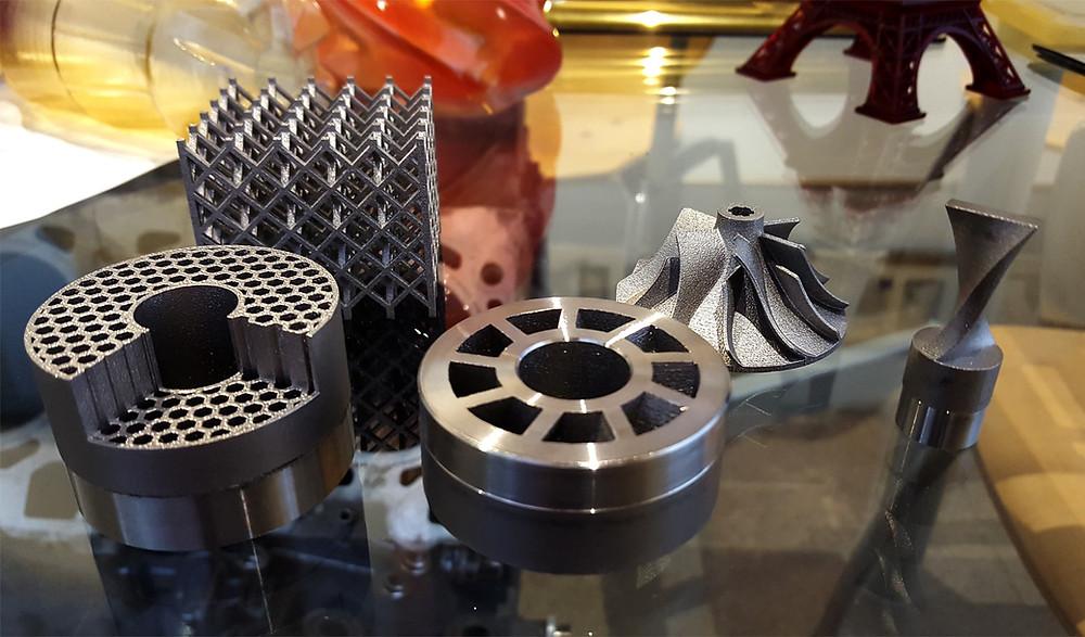Stainless Steel Metal 3D Printed Parts
