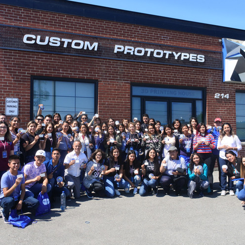Teaching 3D printing - A High School visit from Mexico