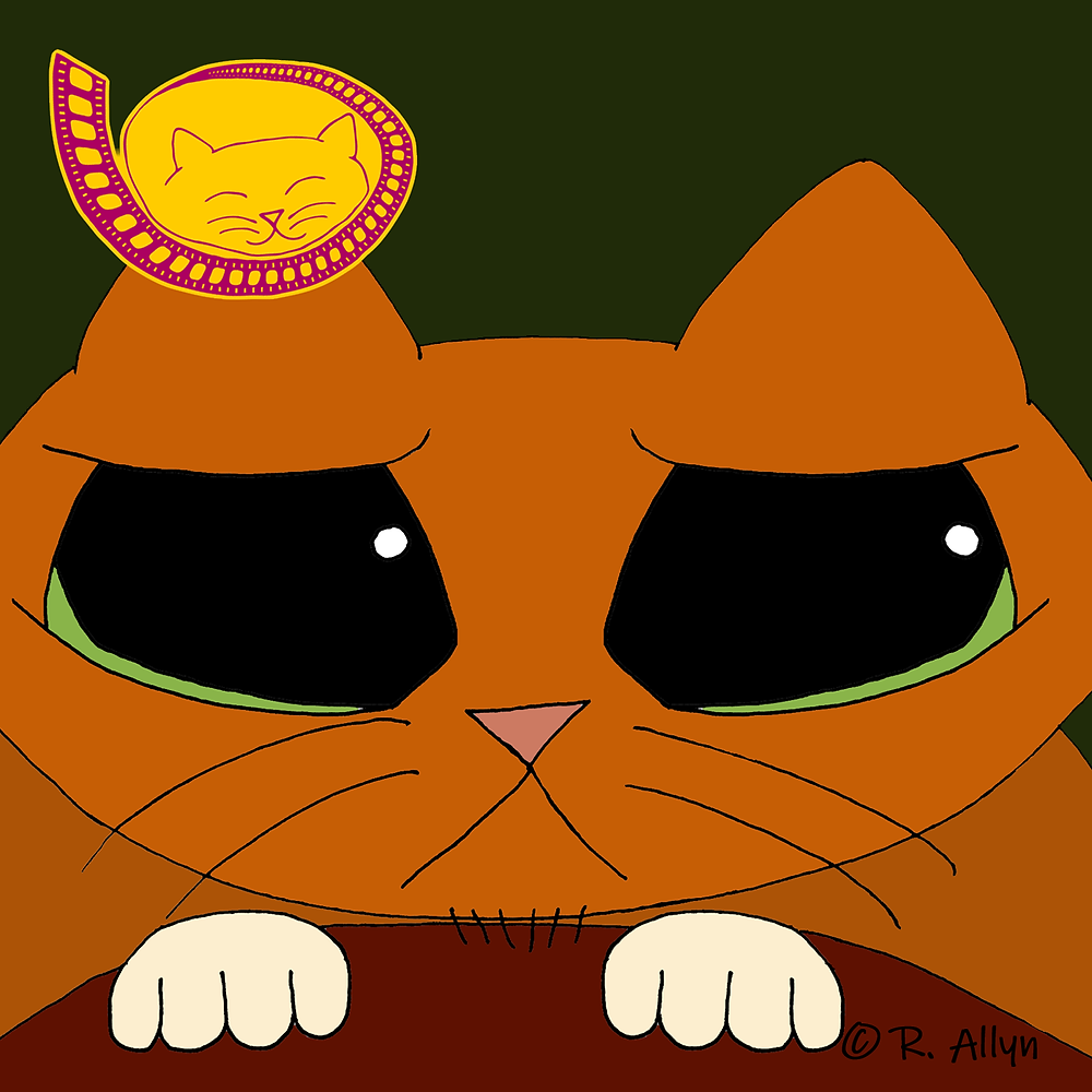 Illustration of Puss in Boots from the movie Shrek 2
