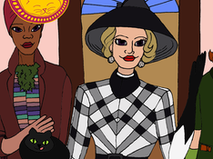 Again with The Witches & Black Cats!