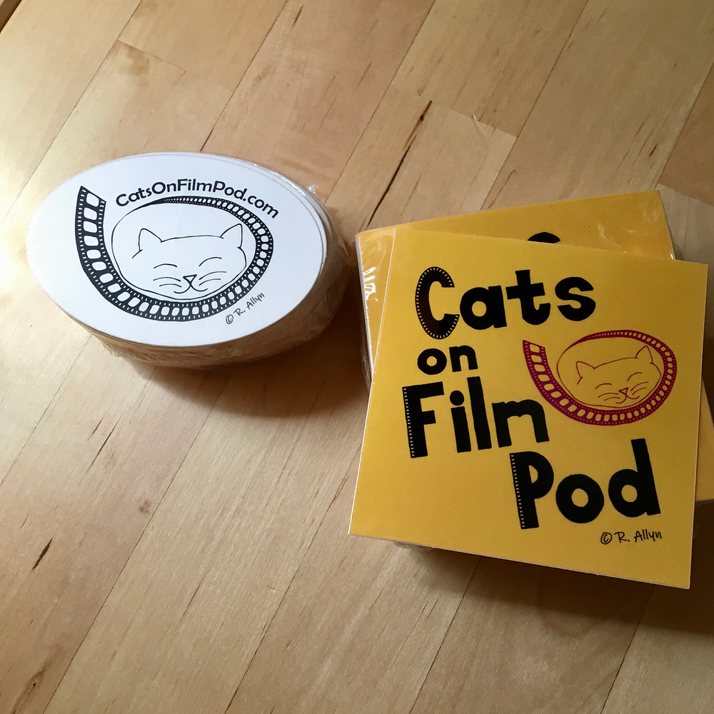 Photo of Cats on Film Pod stickers