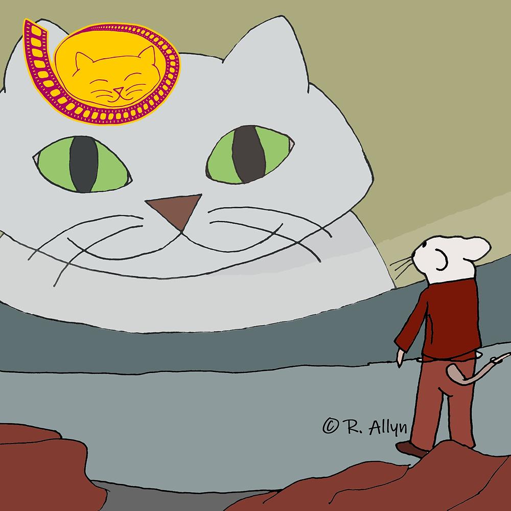 Illustration of Snowbell & Stuart from the movie Stuart Little