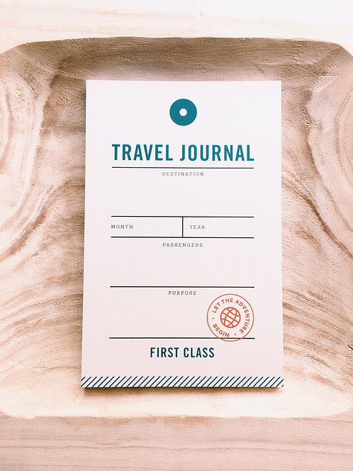 Page Eleven Travel Journal