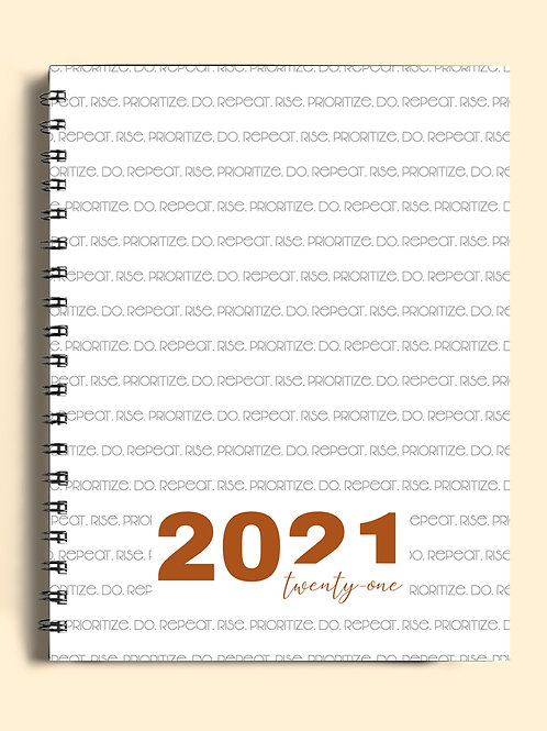 2021 Page Eleven Weekly Planner