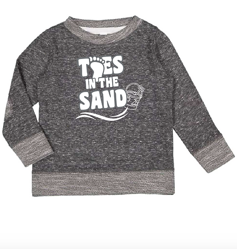 Toddler Harborside Mélange French Terry Crew - 3379