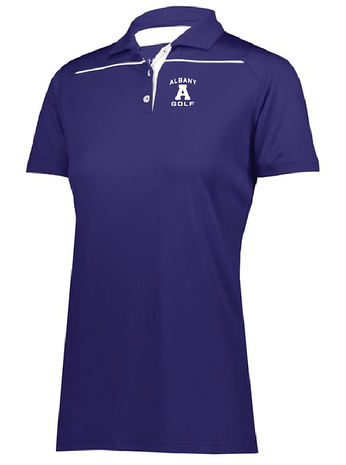AG Ladies Defer Polo •222761 •purple/white