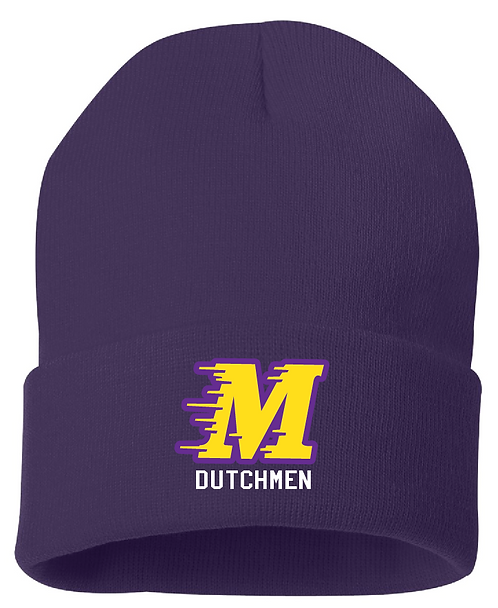 Sportsman - 12 Inch Knit Beanie - SP12 • purple