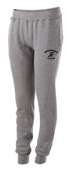 AT Holloway Ladies 60/40 FLEECE JOGGER • 229748 • Charcoal Heather