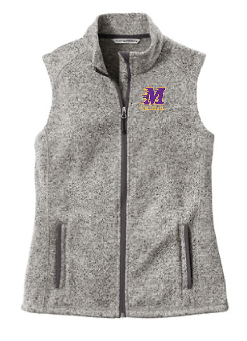 Port Authority ® Ladies Sweater Fleece Vest •L236