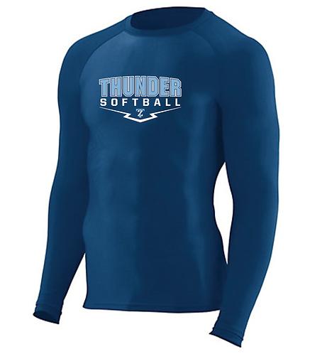 Hyperform Compression Long Sleeve Shirt • 2604 • Navy