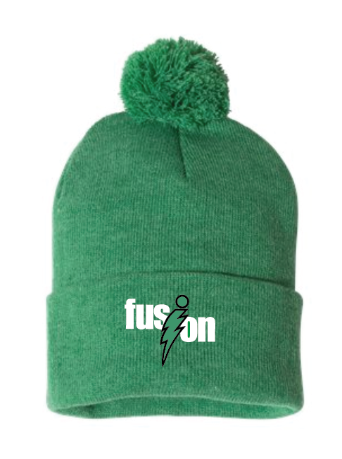 "Sportsman - Pom-Pom 12"" Knit Beanie • SP15 • Heather Kelly"
