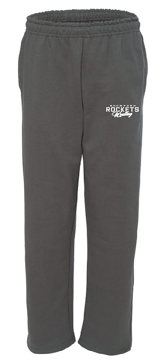 RW Gildan - Heavy Blend™ Youth RW Open-Bottom Sweatpants - 18400B • charcoal