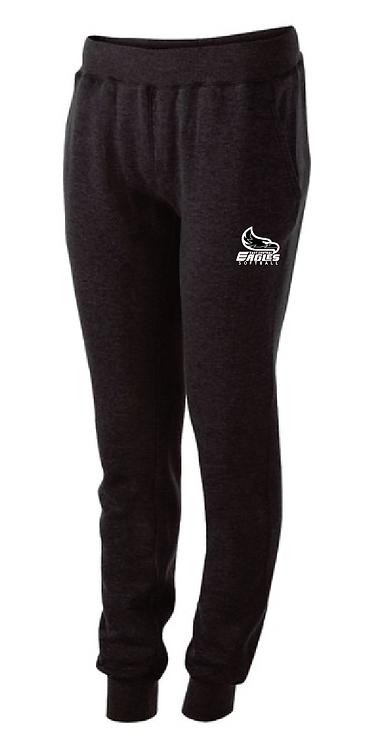 ECS Ladies 60/40 Fleece Jogger • 229748 • black