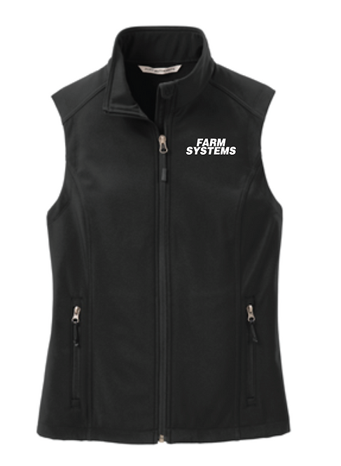 Port Authority® Ladies Core Soft Shell Vest • L325 • black