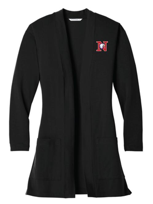 Port Authority ® Ladies Concept Long Pocket Cardigan • LK5434 • black