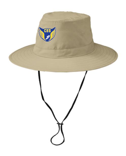 CT Port Authority® Lifestyle Brim Hat • C921 • stone