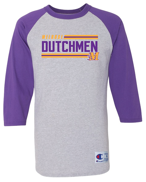 Champion - Raglan Baseball T-Shirt - T137